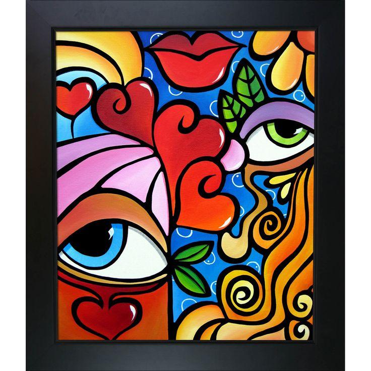 ArtistBe Tom Fedro 'Bubbles' Framed Fine Art Print on