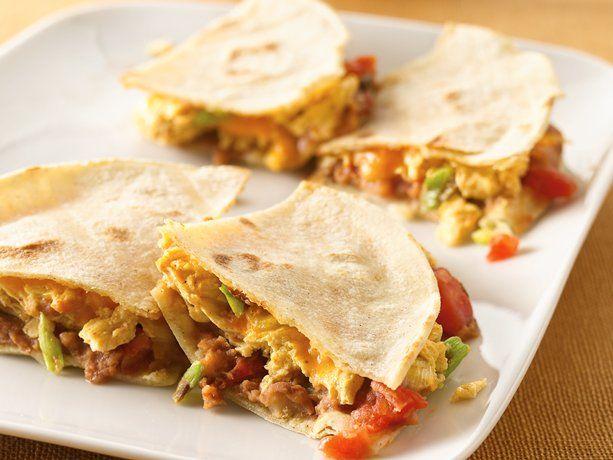Huevos Rancheros Quesadillas for Breakfast