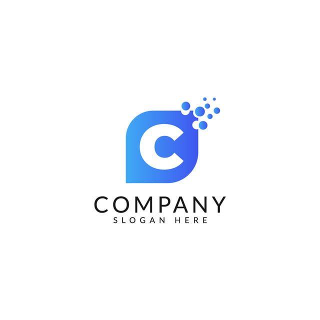 حرف ج شعار قالب مع مفهوم ناقلات Lettering Logo Templates Watercolor Splash