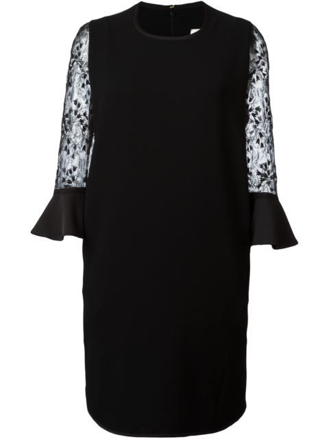 Mame lace bell sleeve dress