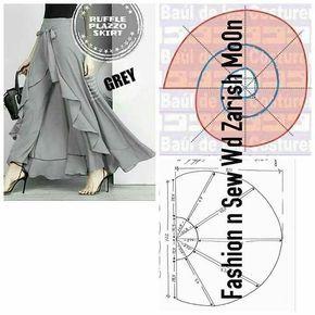 #skirtpattern #etekkalıbı Desteklemek için lütfen yorum yapınız & begen bu…