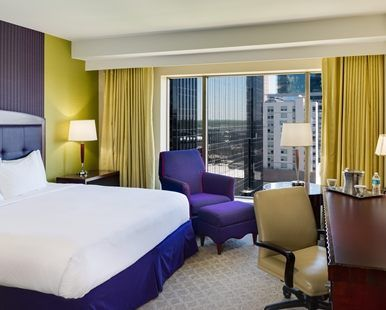 Hilton Charlotte Center City Hotel, NC - King Room | NC 28202