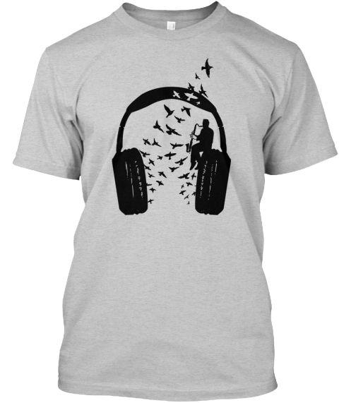 headphone music Bass clarinet - teespring