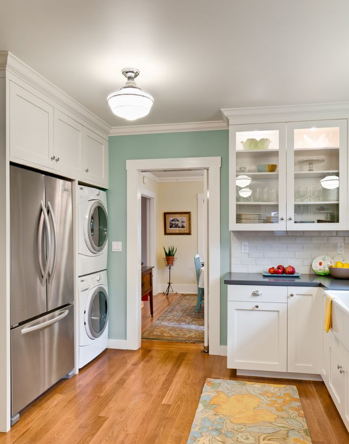 Stacked Washer And Dryer Design  Pictures  Remodel  Decor and Ideas   page 2Best 25  Laundry in kitchen ideas on Pinterest   Laundry cupboard  . Kitchen Laundry Combo Designs. Home Design Ideas