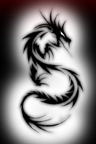 Tribal Dragon tattoo #cool #tattoos