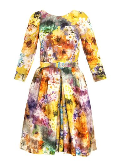 I love this floral, watercolor print