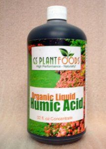 Organic Liquid Humic: Acid Easier to apply than compost Penetrates the soil quickly, going directly to the roots for rapid absorption Can be used with other fertilizers or soil conditioners Increases water retention Helps stabilize soil pH