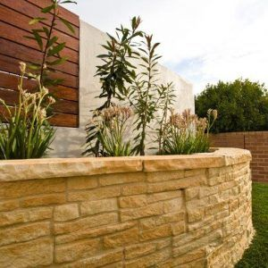 Hadrian Wall retaining wall blocks - Curved Block Set
