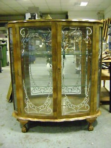 Glass Display Cabinet In Cork