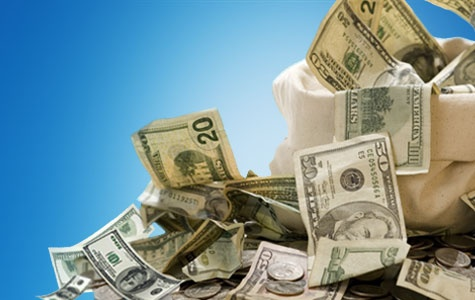 Dólares...