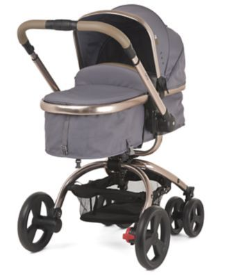 Mothercare Orb Pram and Pushchair - Charcoal Twill