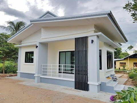 16 Budget Friendly Houses You Can Easily Build Youtube Small House Design Small House Design Philippines Bungalow House Design