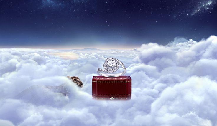 A diamond ring that celebrates love with a single, infinite stroke. #TrinityRuban