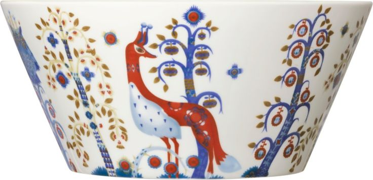 Iittala - Taika Bowl 2,8 l / 26 cm white - Iittala.com