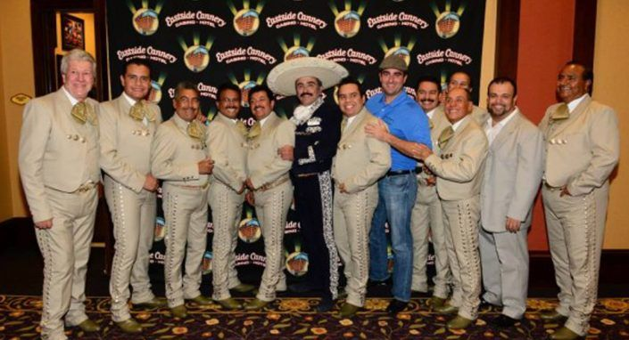 Vicente Fernandez Jr. Peforms at Eastside Cannery