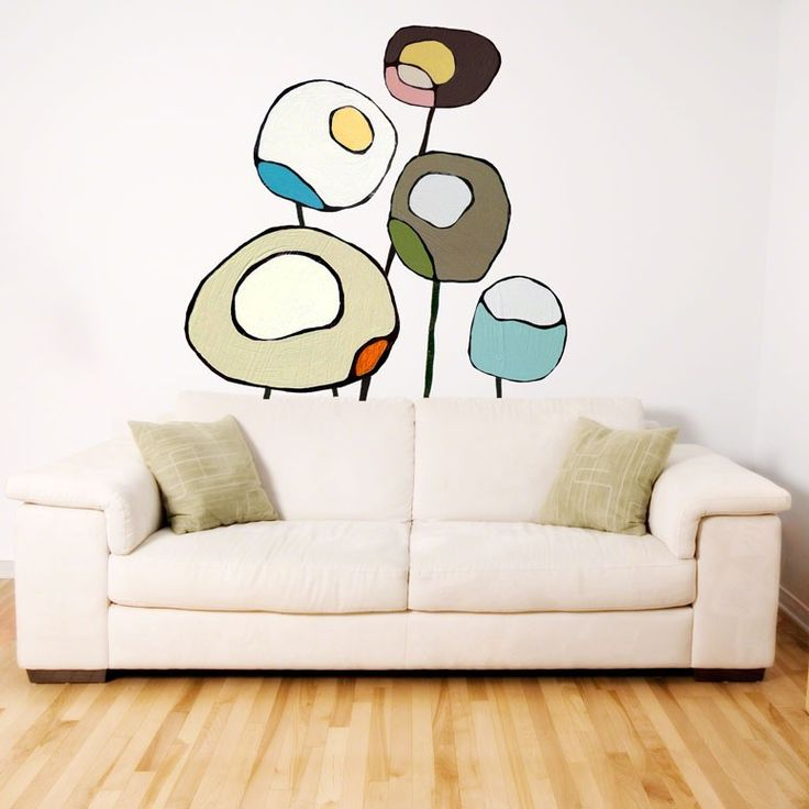 Designer Wall Stickers wall graphics design art wall stickers welcome to our home quote Poppies Neutral Designer Wall Decals By Rachel Austin For Greenbox Art Culture