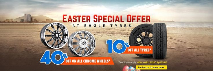 Explore Exciting Easter Offers | Quality Chrome Wheel & Tyres Sales