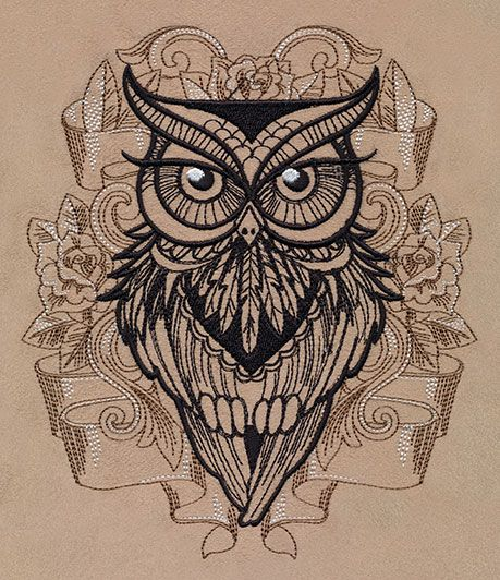Owl You Need | Urban Threads: Unique and Awesome Embroidery Designs