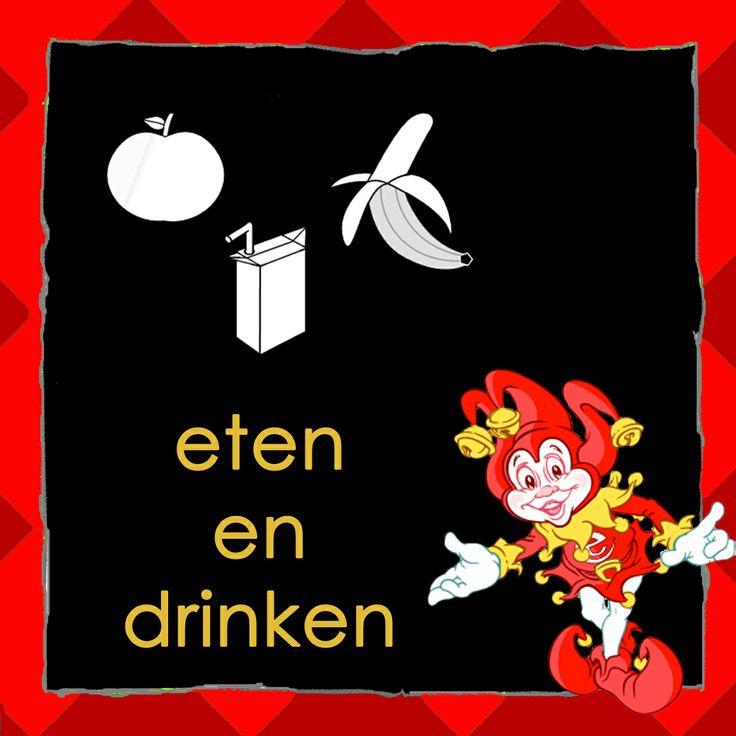 Dagritmekaart: Eten en drinken