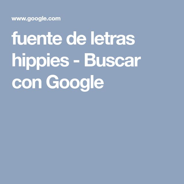 fuente de letras hippies - Buscar con Google