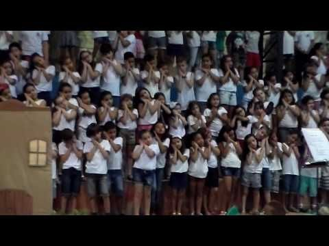 APRESENTAÇÃO DE FINAL DE ANO EMEF FRANCISCO CARDONA P5