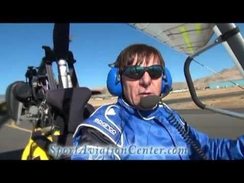 Trike Engine Failure On Takeoff Emergency Landing Scenarios - YouTube