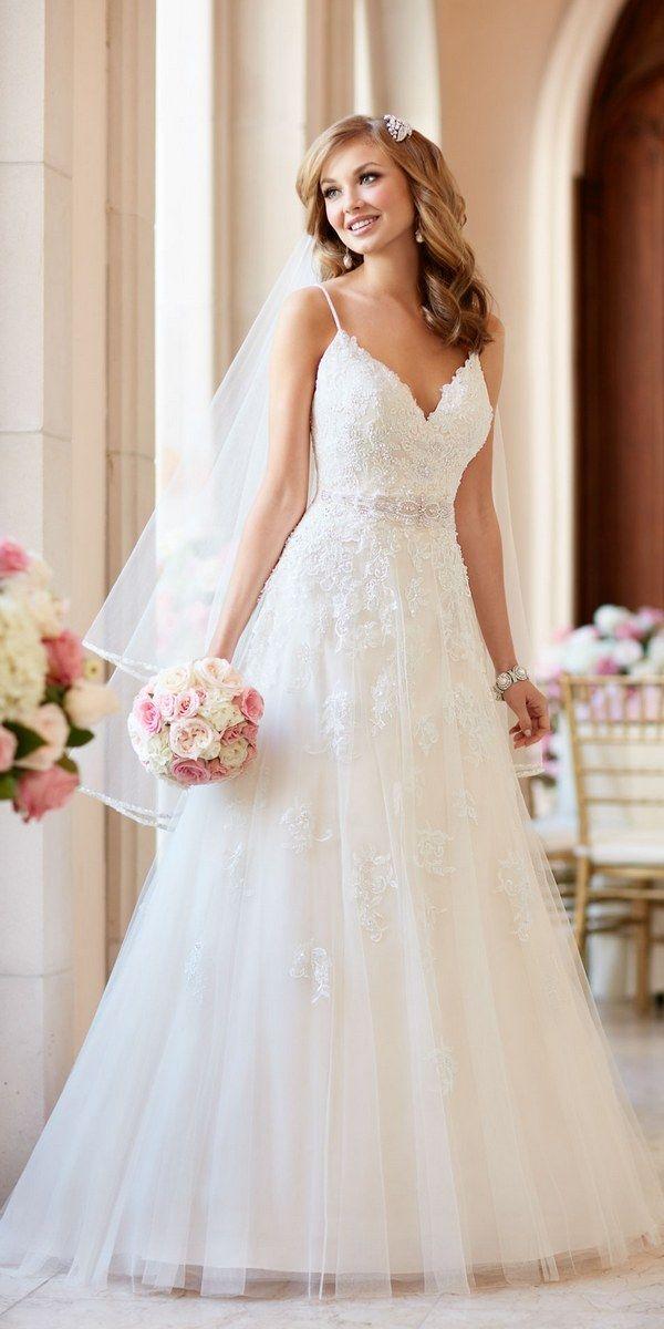17 melhores imagens sobre vestidos de noiva no pinterest for Stella york wedding dresses near me
