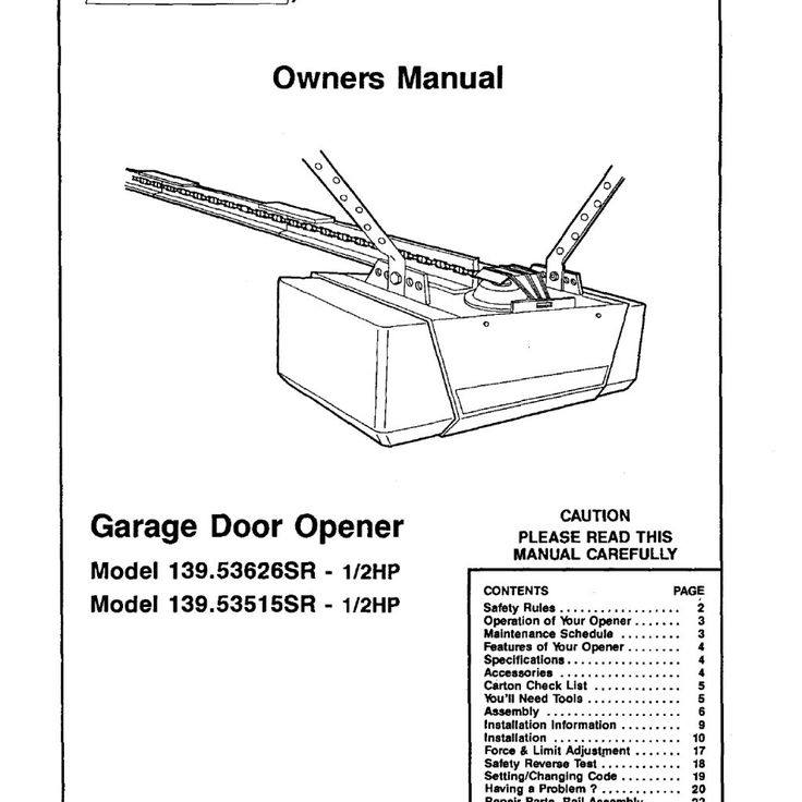 reset keypad for craftsman garage door opener