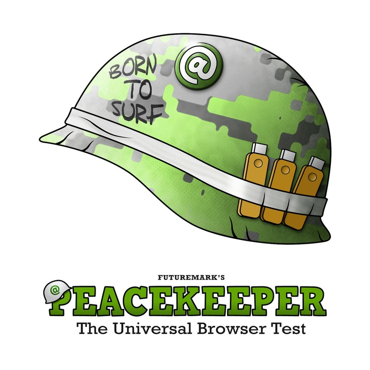 Peacekeeper - free universal browser test for HTML5 from Futuremark