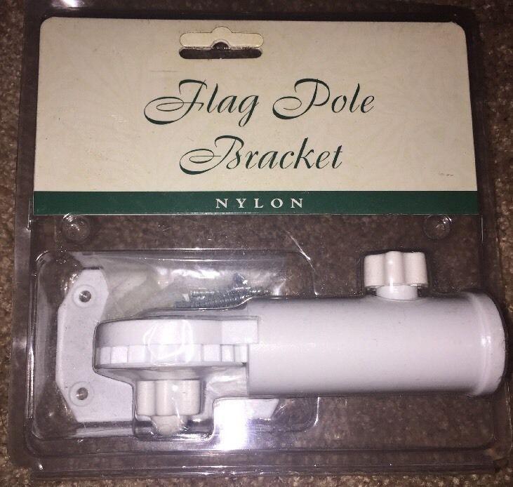 "Toland Nylon Flag Pole Bracket Fully Adjustable For 1"" Standard Flag Pole NEW    eBay"