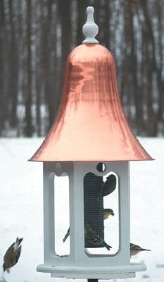 Achla Victorian Bird Feeder, Victorian Gazebo Style Bird Feeder For Wild Birds at Songbird Garden