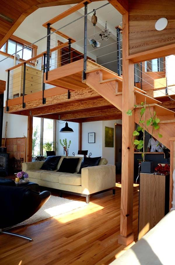 I love how warm,open, and modern this looks!