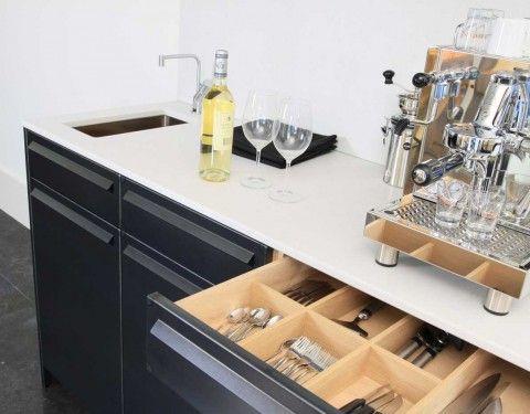 Koffie- en Drankenmeubel - Lodder Keukens