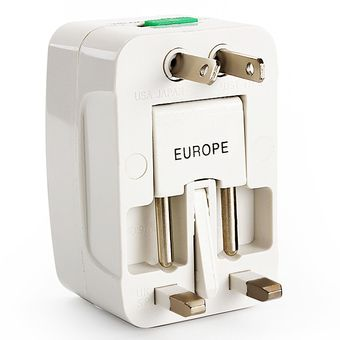 Buy All in One Universal International Plug Adapter Three - hole Socket World Travel Charger Adaptor online at Lazada. Discount prices and promotional sale on all. Free Shipping.