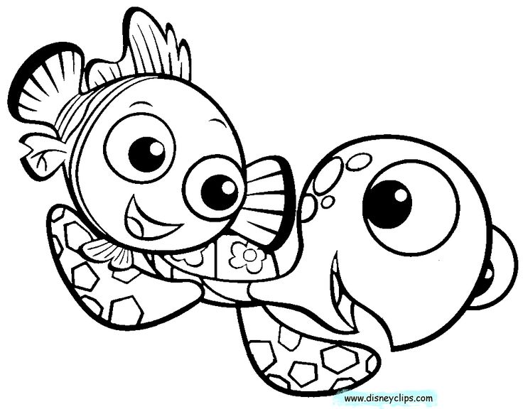 nemo coloring pages images google - photo#23