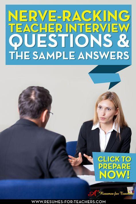 Tough Interview Questions For Teachers
