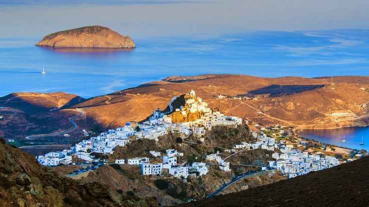 Serifos Island (Chora) Greece -The beauty of the western Cyclades!