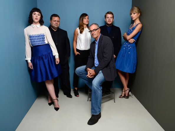 Taylor Swift Photos Photos - (L-R) Actress Alexandra Roach, singer Paul Potts, actress Valeria Bilello, director David Frankel, actor James Corden and actress Taylor Swift of 'One Chance' pose at the Guess Portrait Studio during 2013 Toronto International Film Festival on September 9, 2013 in Toronto, Canada. - 'One Chance' Potraits in Toronto
