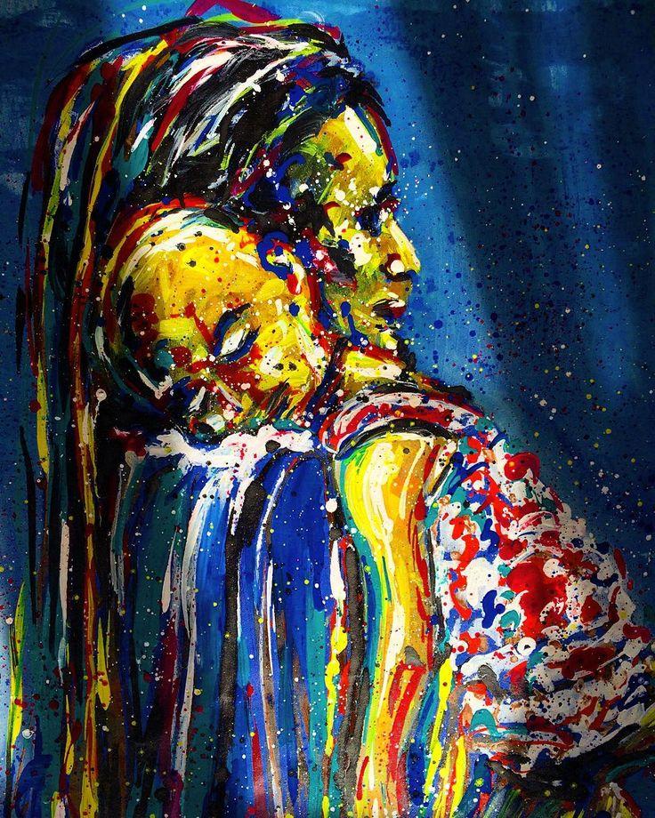 """Mother series (detail)""   #artwork #fineart #draw #drawing #artdrawing #artofdrawing #resim #ressam #serdarabay #serdar_abay  #portrait #portraitart #portre #figure #hands #eyes #woman #mother"