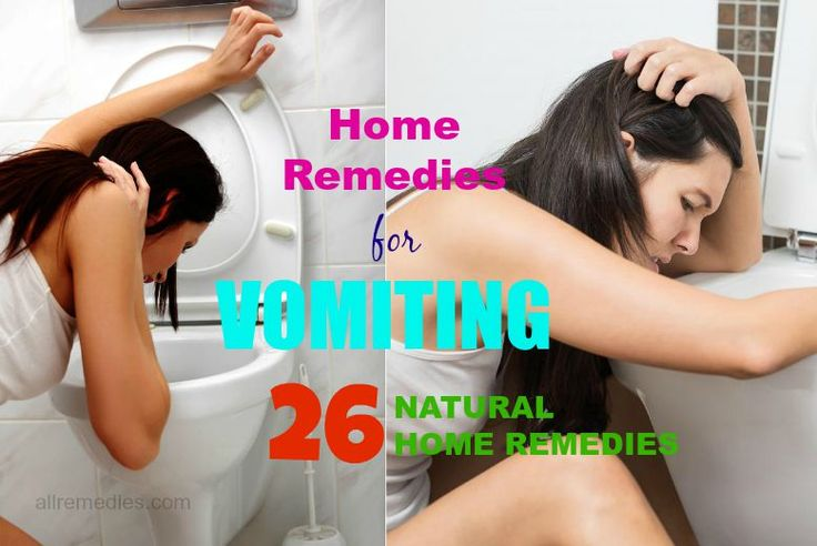 26 natural home remedies for vomiting in adults & children