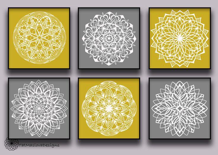11 best mandala sala images on Pinterest | Canvases, Mandalas and Board