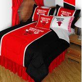 Found it at Wayfair - NBA Bulls Sidelines Comforter