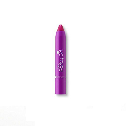 BH Cosmetics Party Girl Twists Lipstick, Invite Only. Hydrates with shea butter. Coconut oil nourishes. Jojoba seed oil moisturizes.