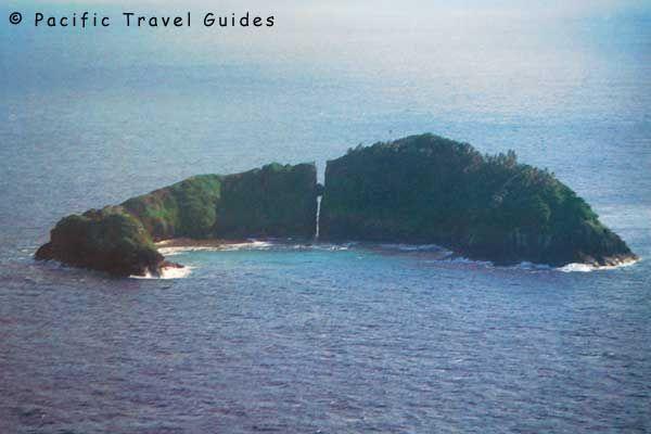 Rotuma Pictures - Hofliua Island - Split Rock (Island)