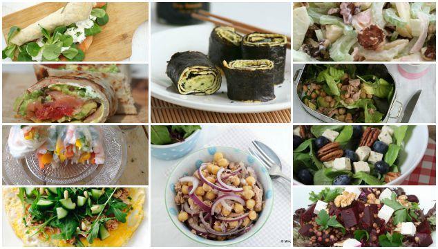 makkelijke en gezonde lunchrecepten