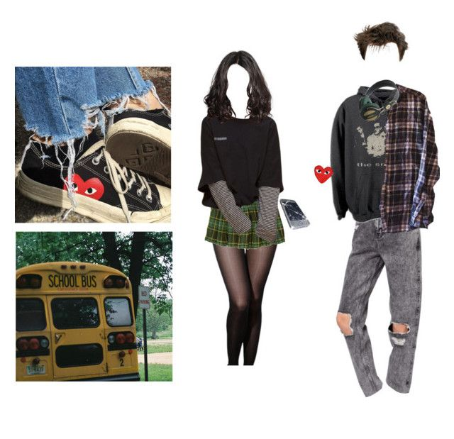 """""""School Yard Romance"""" by cos1laurazona ❤ liked on Polyvore featuring Market, Comme des Garçons and WeSC"""