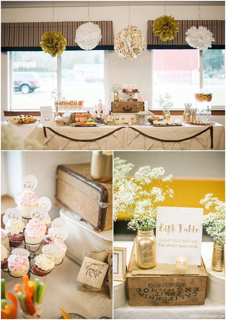 baby shower ideas gold baby shower non traditional baby shower ideas