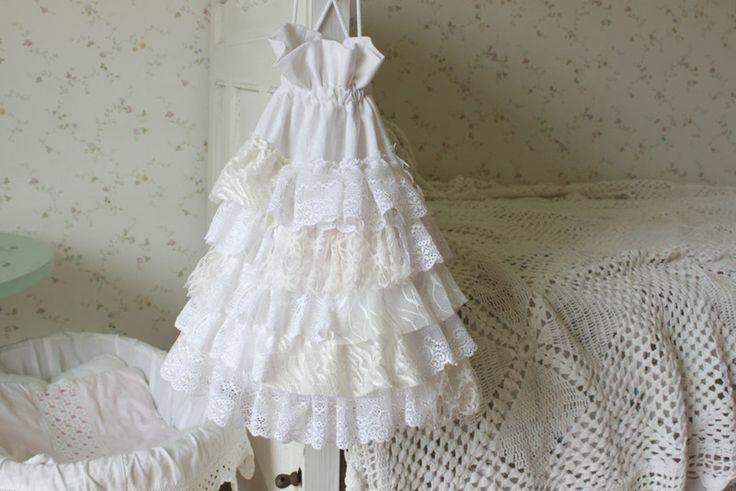 Children's Room Decor – Linen Laundry Lace Bag Room accessory – a unique product…