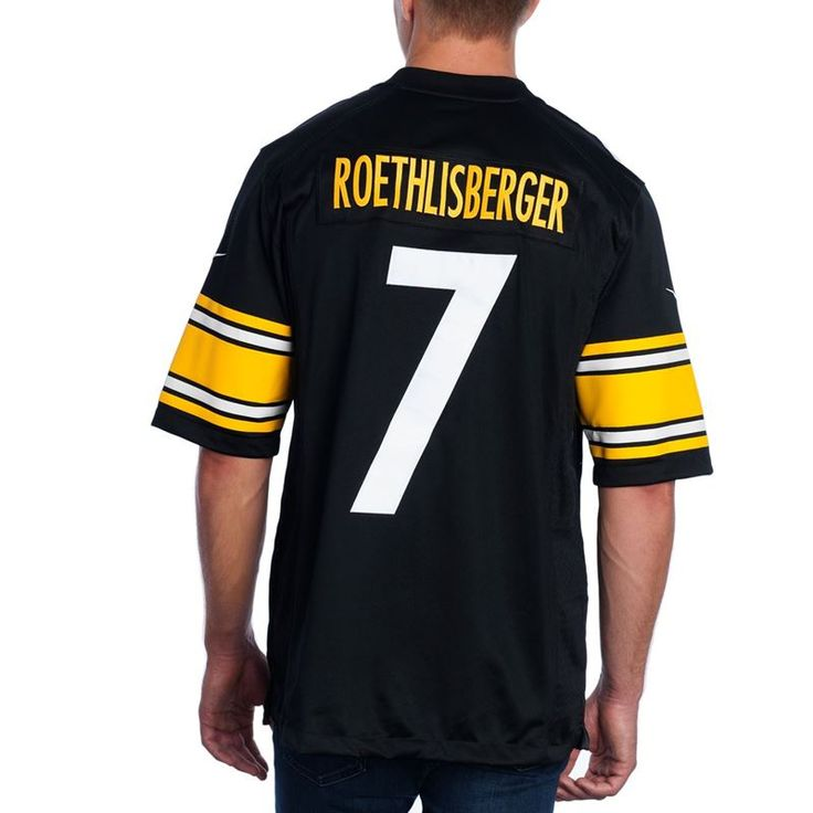 pittsburgh steelers nike ben limited home jersey - Pittsburgh Steelers Merchandise