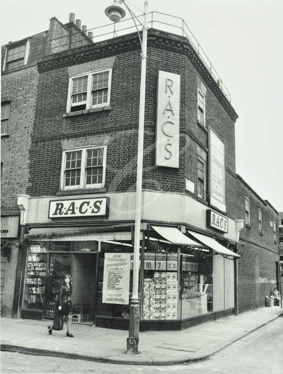 Vintage shop front, Old Coop,  Lambeth Walk